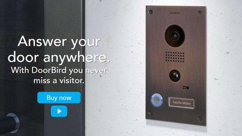 Doorbird interphone vidéo Wi Fi