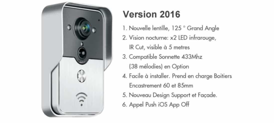 Konx 2016 un portier vid o connect wi fi - Portier video connecte ...
