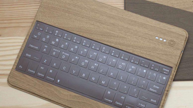Libre Wooden Bluetooth Keyboard