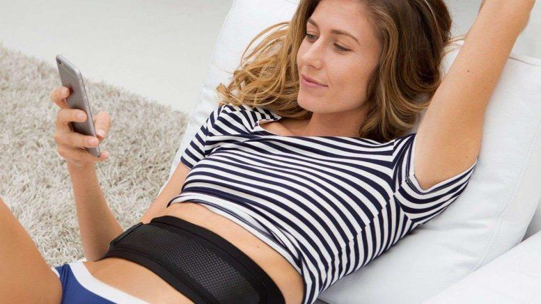 Slendertone Connect Abs ceinture de tonification abdominale connectee