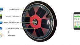 e-sunny roue electrique connectee