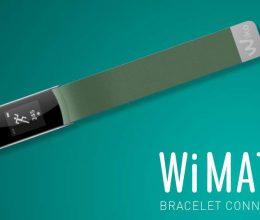 wimate bracelet connecté wiko