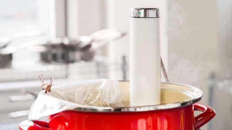 Joule thermomètre connecté culinaire