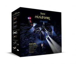Parrot MiniDrone Airborne Night MacLane Bleu