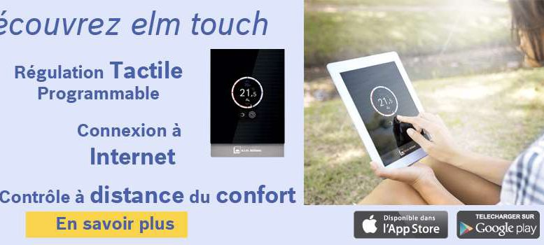 elm touch thermostat connecté