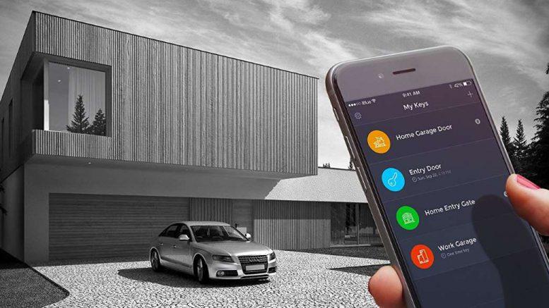 Iblue smart gate quand votre smartphone ouvre votre porte for Telecommande ouverture garage