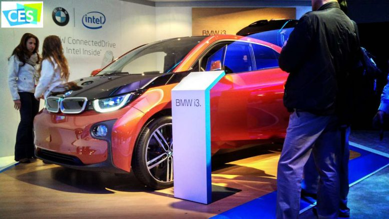 CES Intel bmw