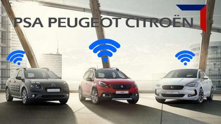Ericsson Orange et le groupe PSA partenaires pour la voiture connectée en 5G