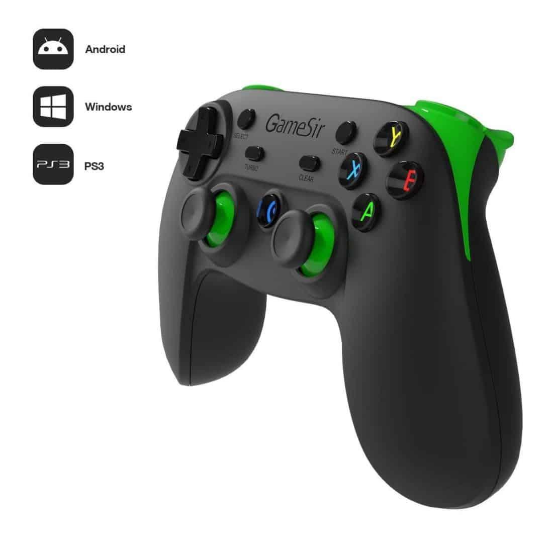 gamesir g3s manette bluetooth sans fil pour pc ps3 vr tv smartphones tablettes. Black Bedroom Furniture Sets. Home Design Ideas