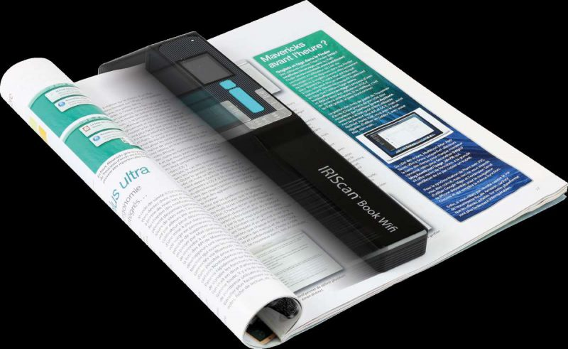 IRIScan Book 5 wifi