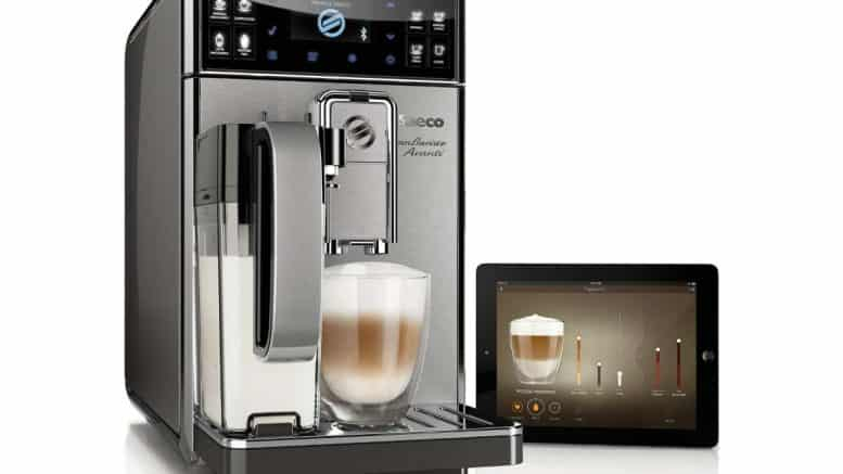 Saeco HD8977 Machine à Espresso connectée Granbaristo Avanti