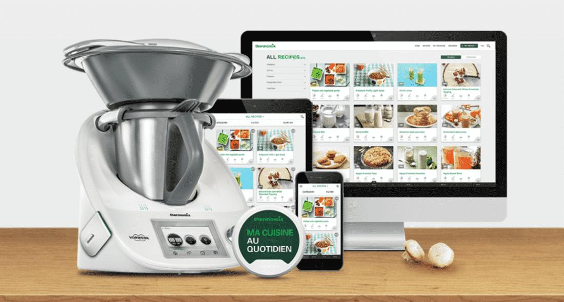 Thermomix propose un robot cuiseur connect - Nouveau livre thermomix 2017 ...