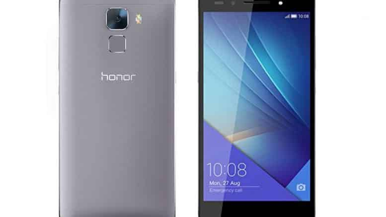 honor 7 gris noir