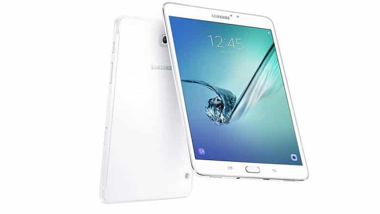 "Samsung Galaxy Tab S2 Tablette tactile 8""."