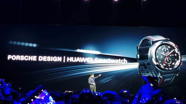 huawei porsche design smartwatch