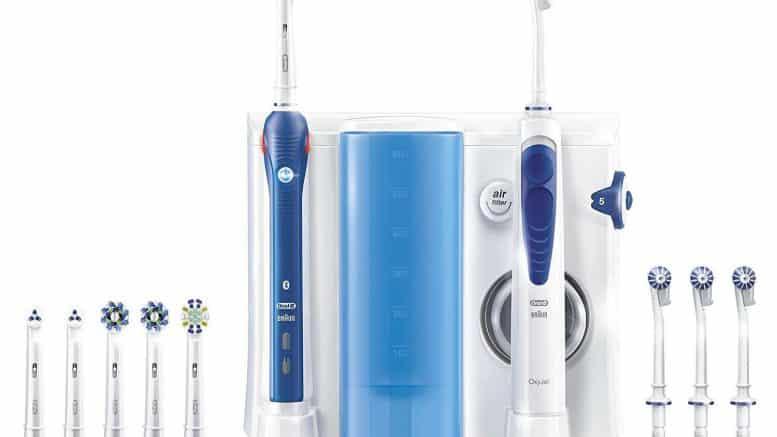 ORAL-B PRO 5000 brosse à dent connectée.