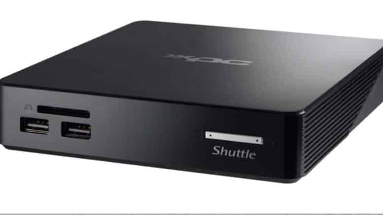 Shuttle XPC nano NS02A