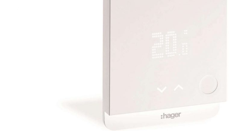 Hager lance un thermostat connecté
