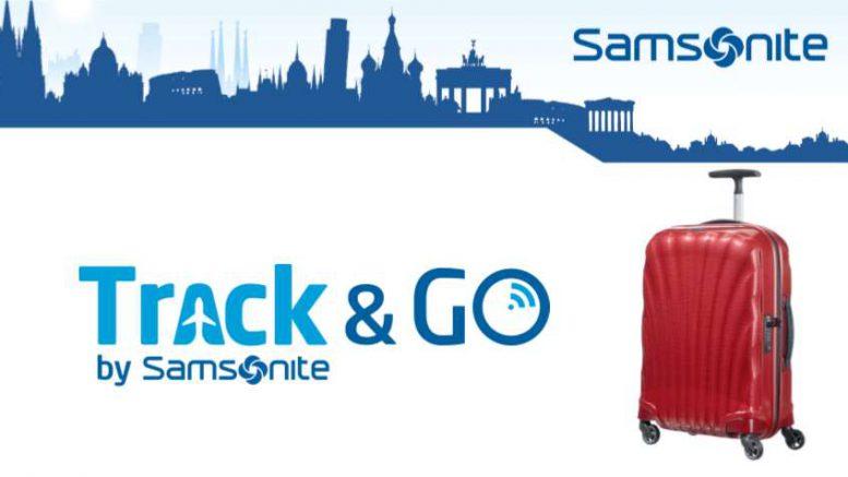 Samsonite vodafone bagage connecté