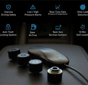 ZUS Smart Tire Safety Monitor