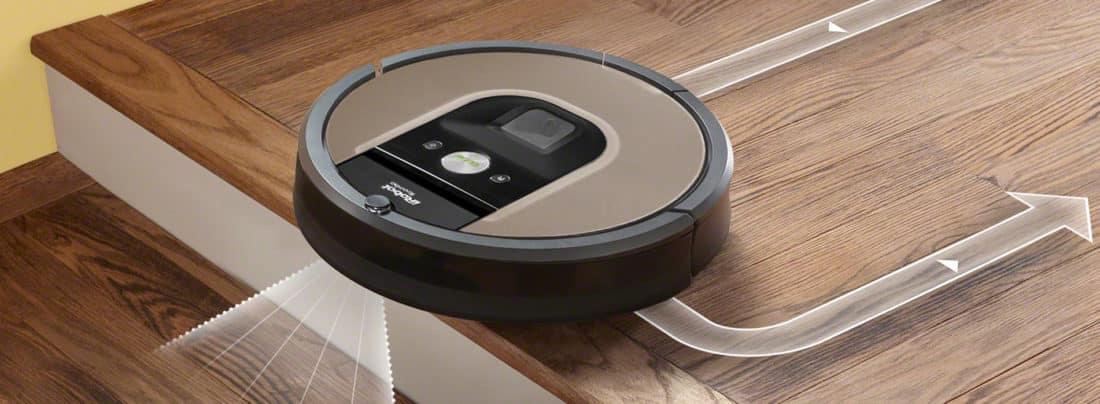 test robot aspirateur intelligent irobot roomba 966. Black Bedroom Furniture Sets. Home Design Ideas