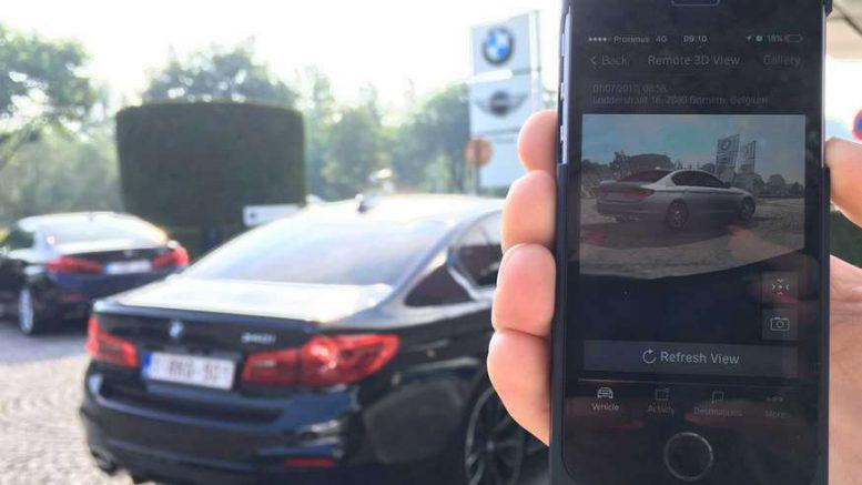 BMW Remote 3D View