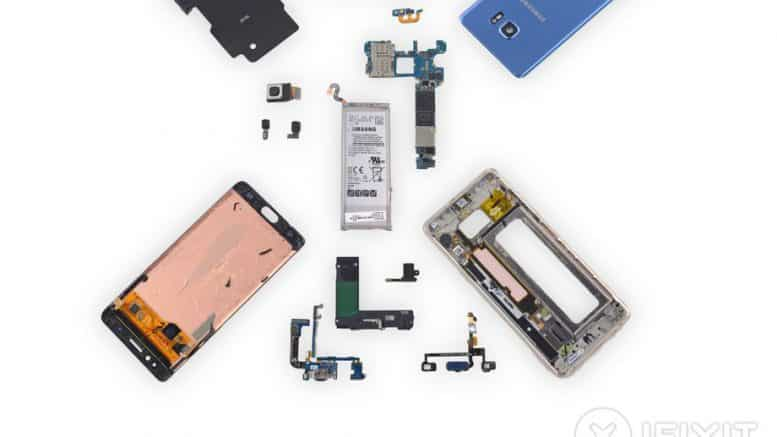 iFixit Note 7 Fan Edition