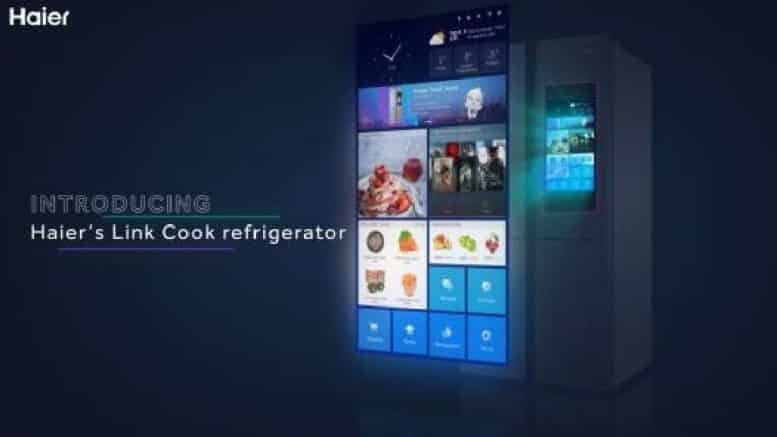 Haier réfrigérateur connecté