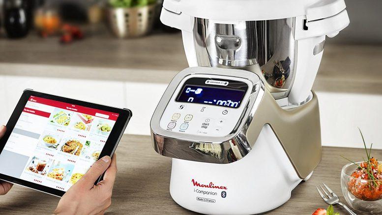 Moulinex i-Companion - HF9001 Robot cuiseur connecté