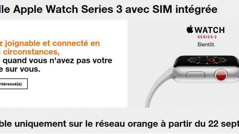 Apple Watch Series 3 Orange