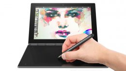"Lenovo Yoga Book tablette tactile hybride 10""."