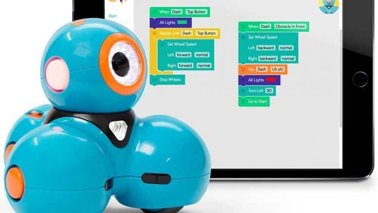 dash le robot connect programm par vos enfants. Black Bedroom Furniture Sets. Home Design Ideas