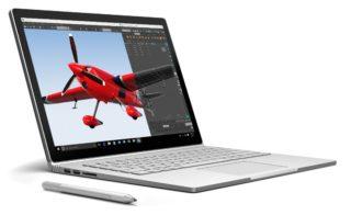 """Microsoft Surface Book Ecran Tactile 13,5"""" Gris"""
