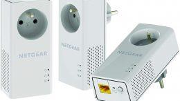 NETGEAR PLP1000T-100FRS Pack de 3 CPL
