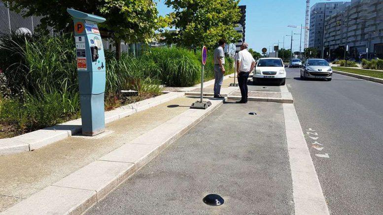 parking connecté Montpellier