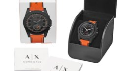 Armani Exchange Montre Connectée Unisexe AXT1000