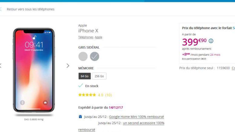 Bon Plan L Iphone X A 399 Une Offre Cachee Chez Bouygues