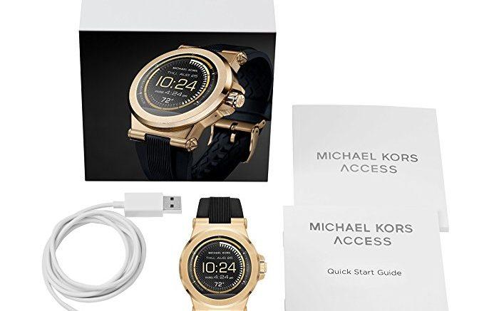 Michael Kors Montre Connectée Homme MKT5009 02