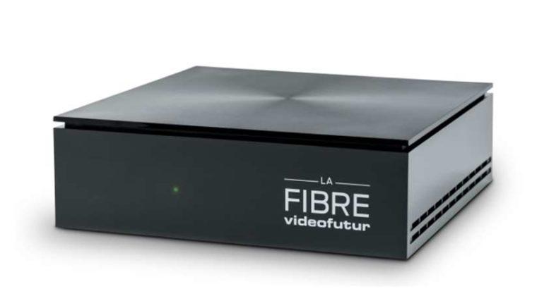 Nouvelle BOX ULTRA HD 4K LA FIBRE videofutur