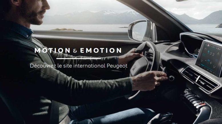 PSA Peugeot connected