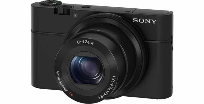 Sony DSC-RX100 appareil photo numérique connecté