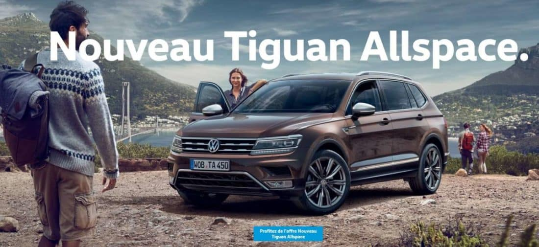nouveau tiguan allspace un 7 places connect et attentif. Black Bedroom Furniture Sets. Home Design Ideas