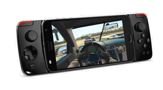 moto Z Play GamePad