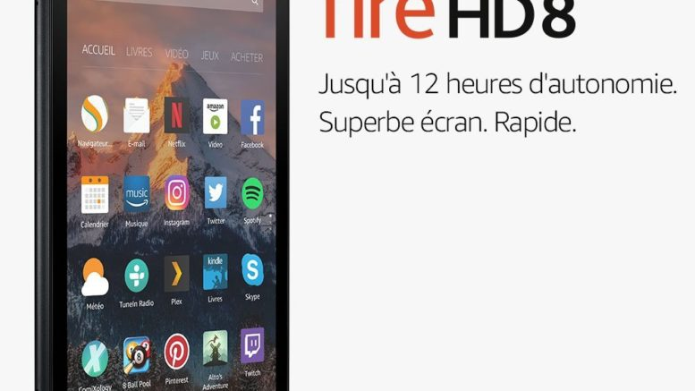 tablette Fire HD 8 écran HD 8 04