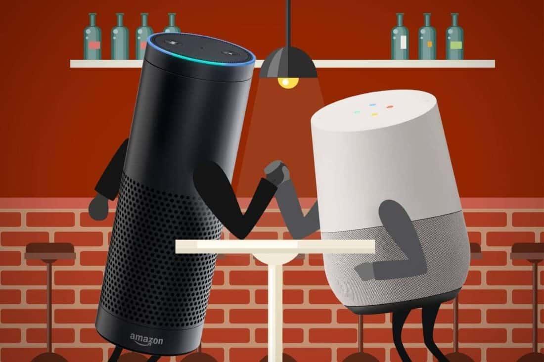 test faut il acheter google home no l ou attendre la sortie d 39 amazon echo. Black Bedroom Furniture Sets. Home Design Ideas