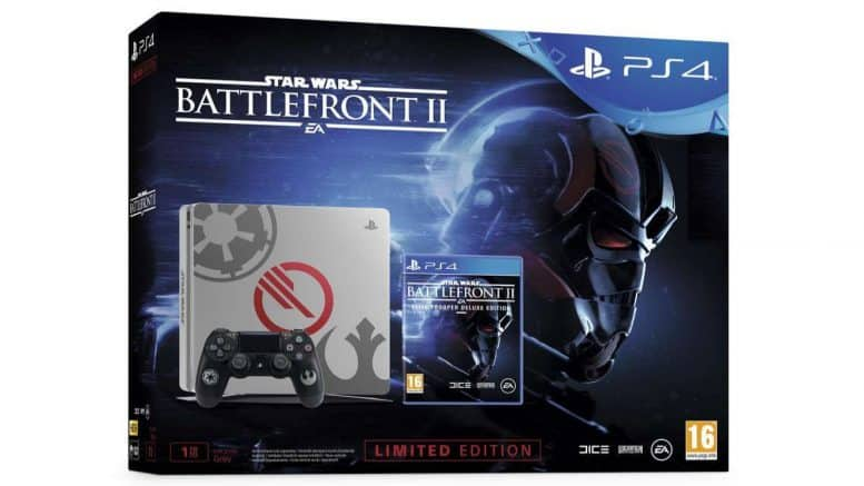 PS4 Slim 1To + Star Wars Battlefront II
