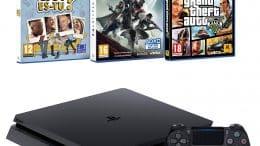 Pack PS4 + Destiny 2 + GTA V + Qui es-tu