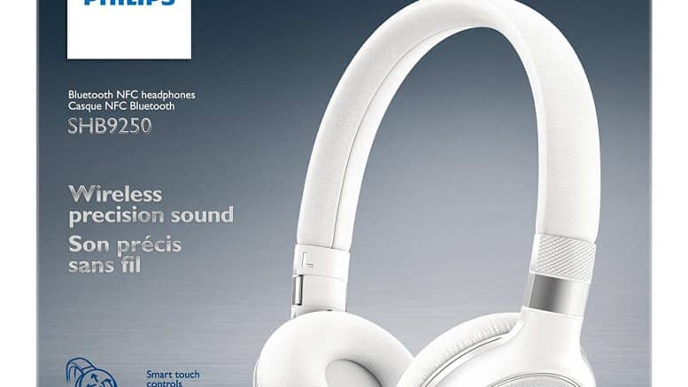 Philips SHB9350WT casque Bluetooth