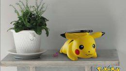 Pikachu chargeur qi sans fil