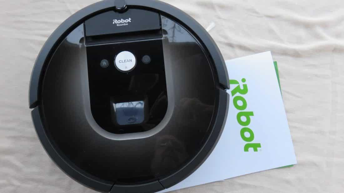test robot aspirateur irobot roomba 980. Black Bedroom Furniture Sets. Home Design Ideas